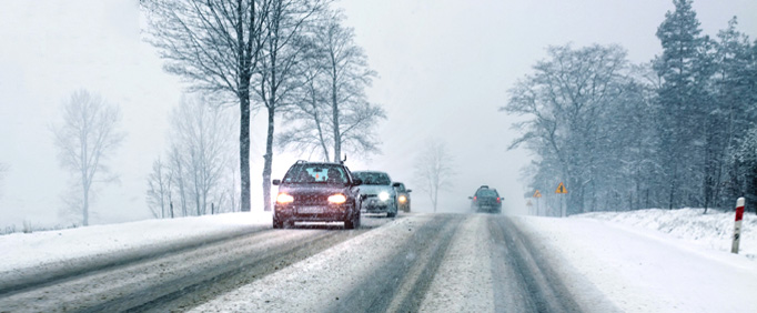 Preventing Vehicle Collisions In Ice & Snow